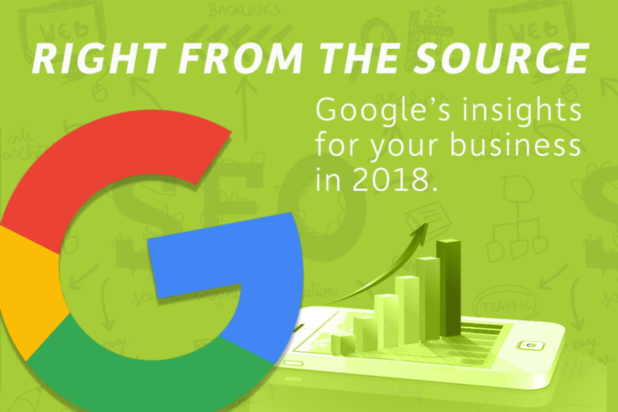Google's Insights For Your Business In 2018.