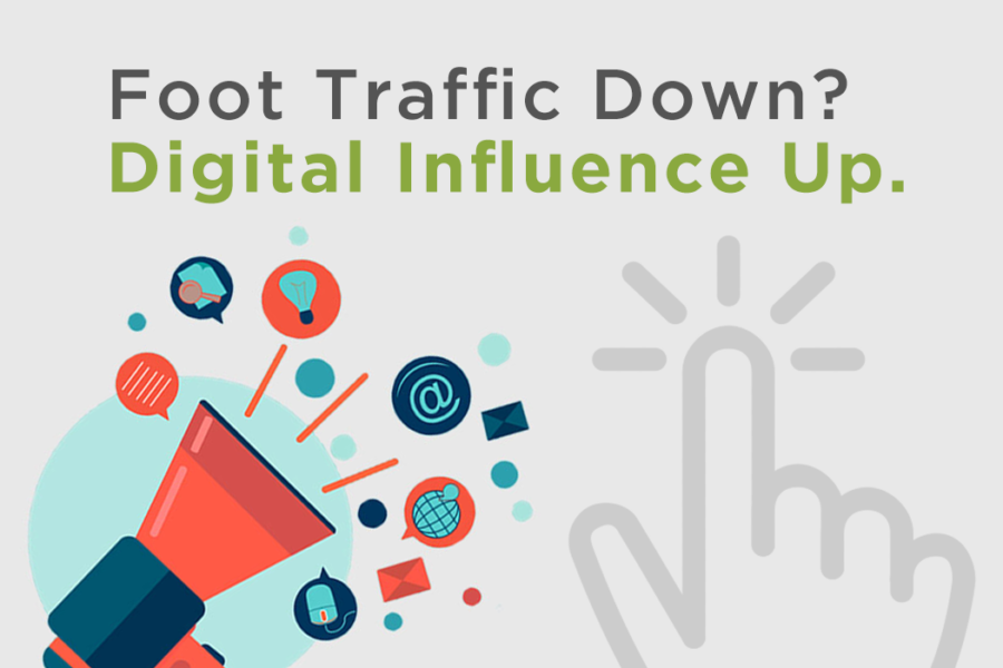 Foot Traffic Down? Digital Influence Up.